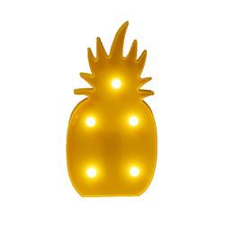 - Ananas Dekoratif Led 16 Cm