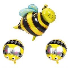 - Arı Folyo Balon 3'lü Set