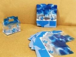 - Asetat Şekerlik Kutu Baby Mavi 50'Li