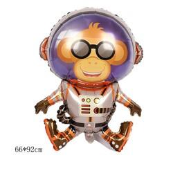 - Astronot Maymun Folyo Balon 90 cm