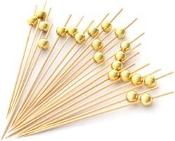 - Bambu İnci Gold Kürdan 12 li