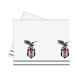 - Beşiktaş Lisanslı Plastik Masa Örtüsü 120 x 180 Cm