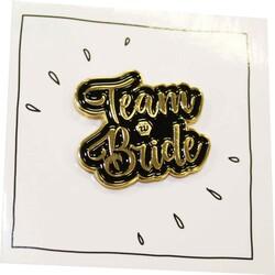 - Bride Metal Rozet Gold Küçük