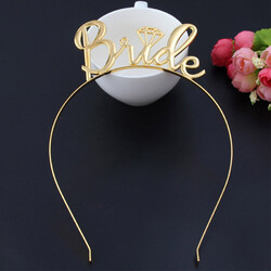 - Bride Metal Taç Gold