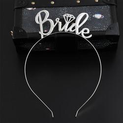 - Bride Metal Taç Gümüş