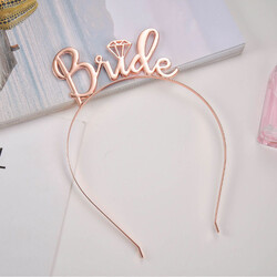- Bride Metal Taç Rose Gold