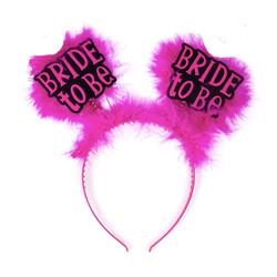 - Bride Taç Tüylü Pembe