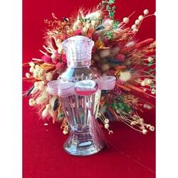 - Cam Şişe Hürrem Model Kristal Kapaklı 14 Cm 100 CC 5'li