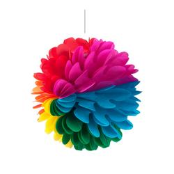 - Çiçek Süs Karışık Renkli 30 Cm