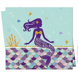 - Deniz Kızı Lisanslı Plastik Masa Örtüsü 120 x 180 Cm