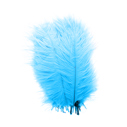 - Doğal Tüy Mavi 100 'lü