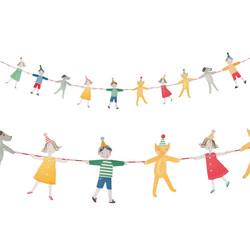 - El Ele Tutuşan Çocuklar Parti Banner 3 Metre