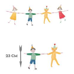El Ele Tutuşan Çocuklar Parti Banner 3 Metre - Thumbnail