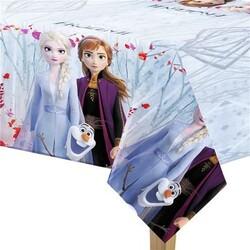 - Frozen Lisanslı Plastik Masa Örtüsü 120 x 180 Cm