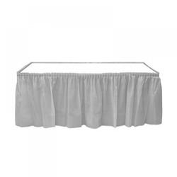- Gümüş Plastik Masa Eteği