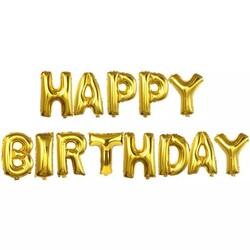 - Happy Birthday Gold Folyo Balon Set 40 cm