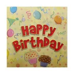 - Happy Birthday Kağıt Peçete
