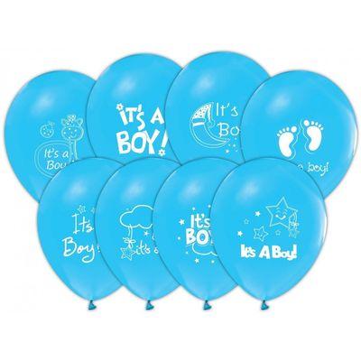 İt is A Boy Baskılı Balon 6 'li