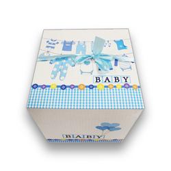 - İthal Katlamalı Kutu Baby Mavi