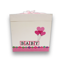 - İthal Katlamalı Kutu Baby Pembe