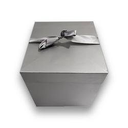 - İthal Katlamalı Kutu Gümüş