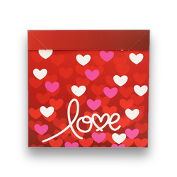 - İthal Katlamalı Kutu Love