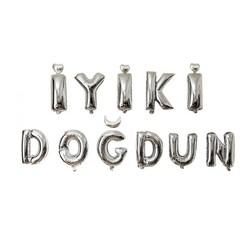 - İyi ki Doğdun Set Gümüş Folyo Balon 40 Cm