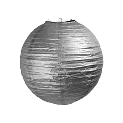 - Japon Feneri Gümüş 25 Cm