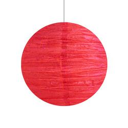 - Japon Feneri Simli Kırmızı 30 Cm