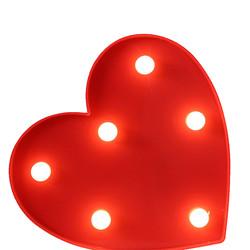 - Kalp Dekoratif Led 25 Cm