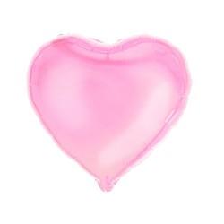 - Kalp Folyo Balon Pembe 60 Cm