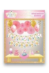- Karton Yazı Flamingo Temalı İyi ki Doğdun