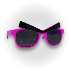- Kaşlı Fuşya Gözlük