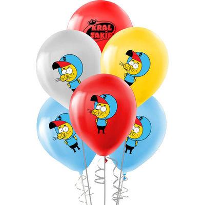 Kral Şakir Lisanslı Balon 8 'li