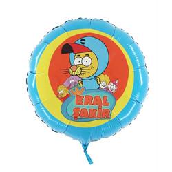 - Kral Şakir Lisanslı Folyo Balon 45 Cm