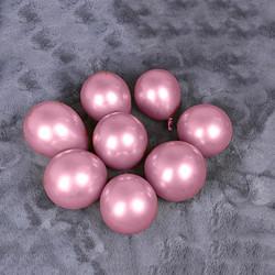 Krom Parlak Balon 5 İnç 5 'li - Thumbnail