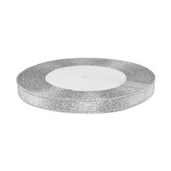 - Kurdele Saten Simli Gümüş 1 Cm 10 Metre