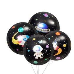 - Küre Folyo Balon Uzay Temalı
