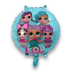 - LoL Bebek Folyo Balon Mavi 18 İnç