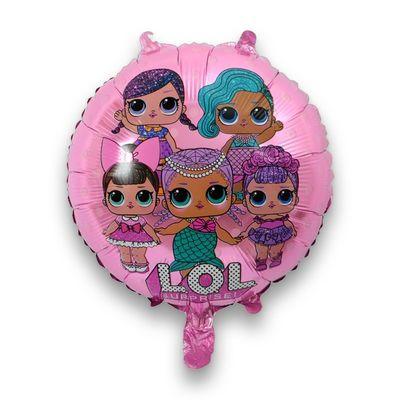 LoL Bebek Folyo Balon Pembe 18 İnç