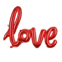 - Love Kırmızı Folyo Balon 40 Cm