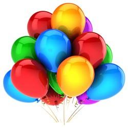 - Metalik Karışık Balon 100 'lü