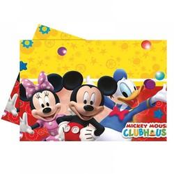 - Mickey Mouse Lisanslı Plastik Masa Örtüsü 120 x 180 Cm