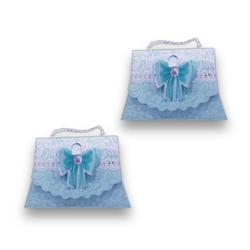 - Mini Şeker Kutusu İnci İpli 12 'li Mavi