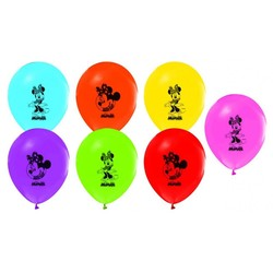 - Minnie Mouse Lisanslı Balon 8 'li