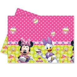 - Minnie Mouse Lisanslı Plastik Masa Örtüsü 120 x 180 Cm