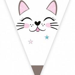- Miss Cat Lisanslı Üçgen Flama