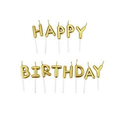 - Mum Kürdanlı Happy Birthday Altın
