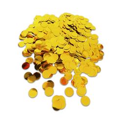 - Pul Konfeti Metalik Gold 20 Gr