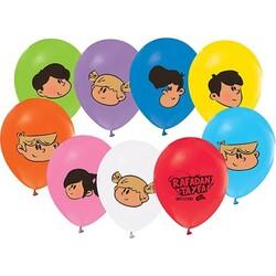 - Rafadan Tayfa Lisanslı Balon 8 'li